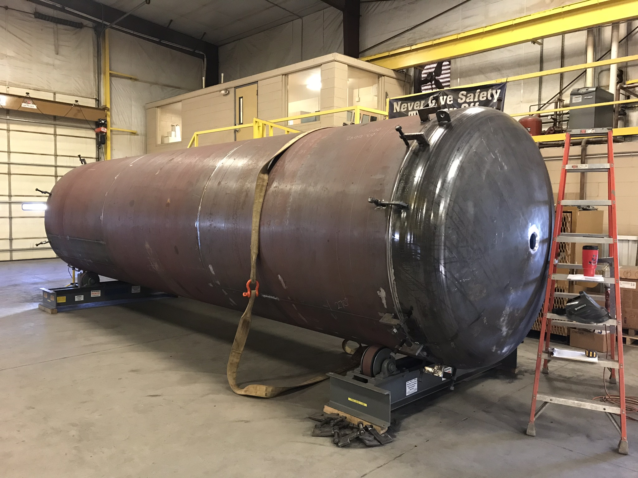 Pressure Vessel Progress